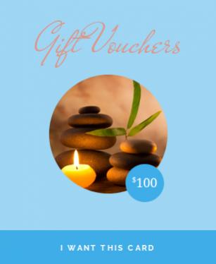 $100.00 Gift Voucher from Harmonious Balance