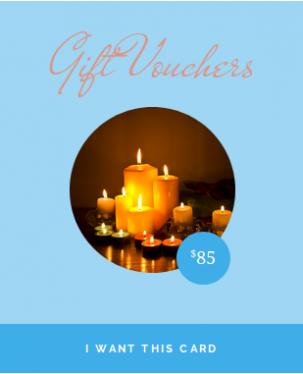 $85.00 Gift Voucher from Harmonious Balance