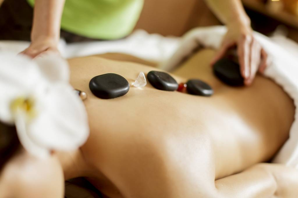 Hot Stone Massage - Harmonious Balance