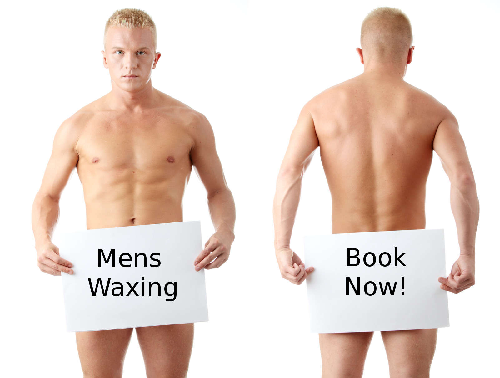 Mens Waxing - Full Leg